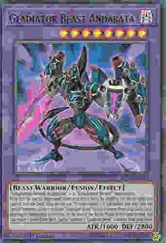 Gladiator Beast Andabata BLLR-EN022 Ultra Rare Battles of Legend: Light's Revenge  Attribute Monster Type/Card Type: DARK Beast-Warrior/Fusion/Effect Monster