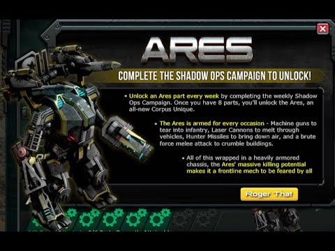 Q: If I Collected 40 War Commander Elite Ares Parts Will I Be Able To Unlock It Knowing That I Don't Have The Standard War Commander Version