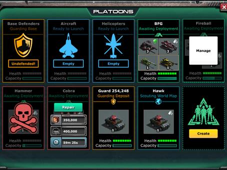 War Commander | Micro Heal Base Defenders?