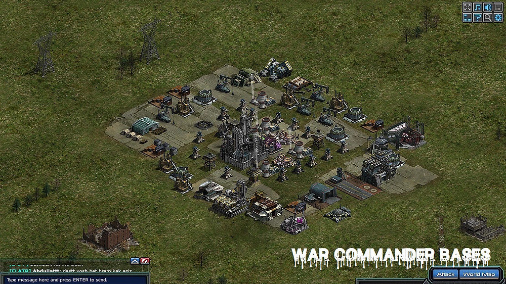 War Commander Bases | criss-cross (33)  These days it seems to be more War Commander base defense then anything. I personally think