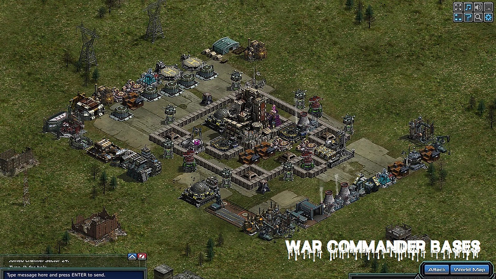 War Commander Bases   CHOPPER-MASTER (39)  They mostly revolve the War Commander PvP aspect of the game around smashing people. If
