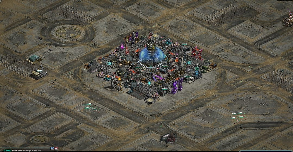 War Commander Bases | Base Setting Up  Here is a pic of nice War Commander base setting up. They are prob using Cloak
