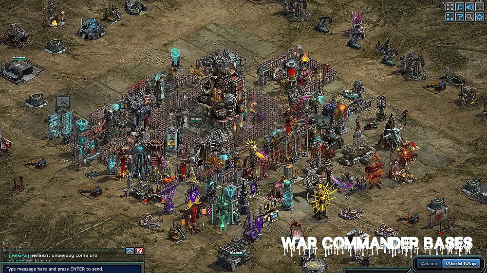 """War Commander Bases 