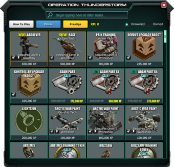 War Commander | Save Prestige Till Next Event ?