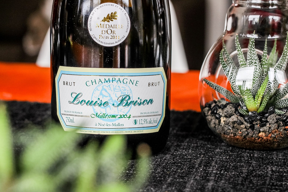 The Wine: Louise Brison, Brut Millésime Champagne 2004