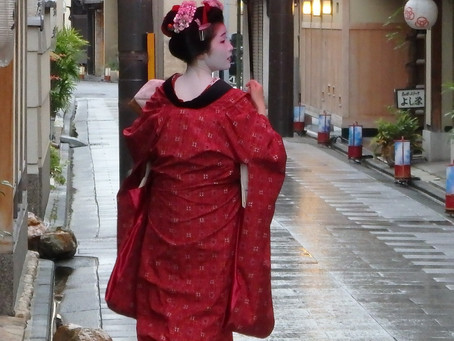 Geisha: el barrio de Gion, el sauce y la flor