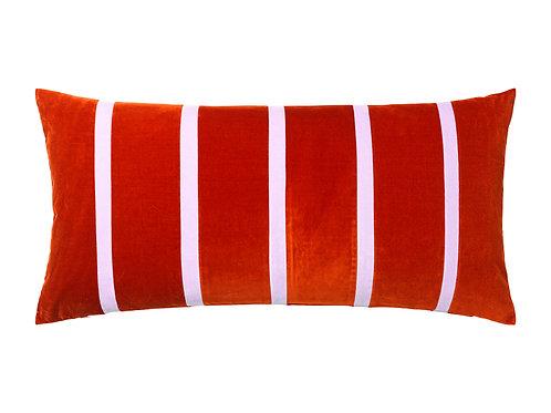 Pippa 40x80 #dark red/lavender