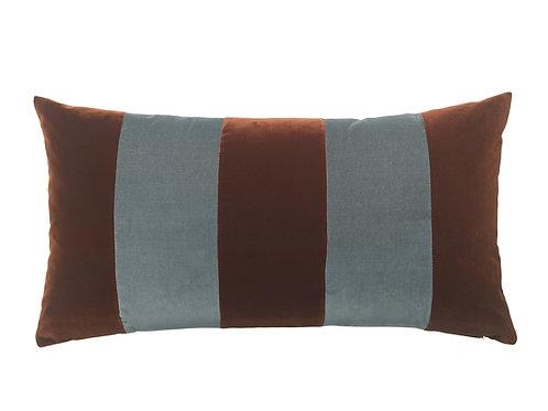 Stripe 40x80 #sierra/steel grey