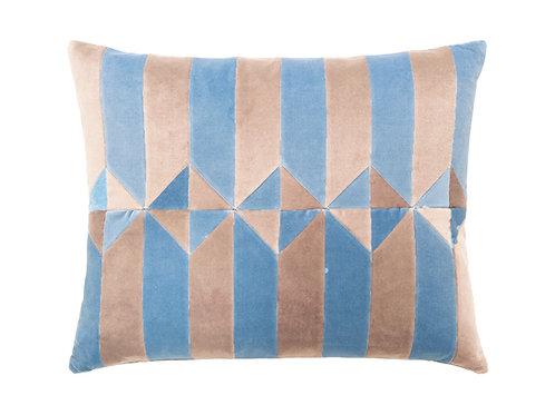 Olivia 50x60 #beige/new blue