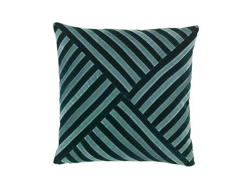 Lily 55x55 #pale blue / emerald