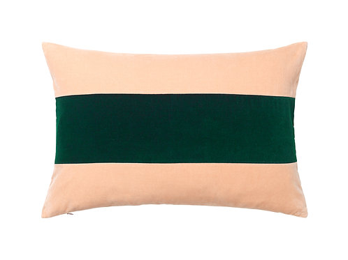Edie 40x60 #pale rose/emerald