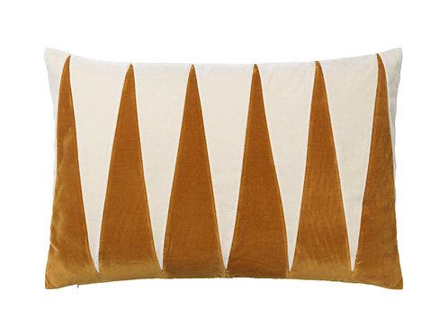 Paula 40x60 #caramel/dusty white