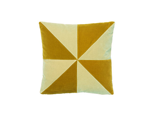 Suki 40x40 #golden olive/sage