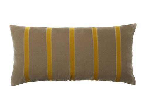 Pippa 40x80 #taupe/golden olive