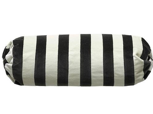 Bolster stripe #67 pearl/dark grey