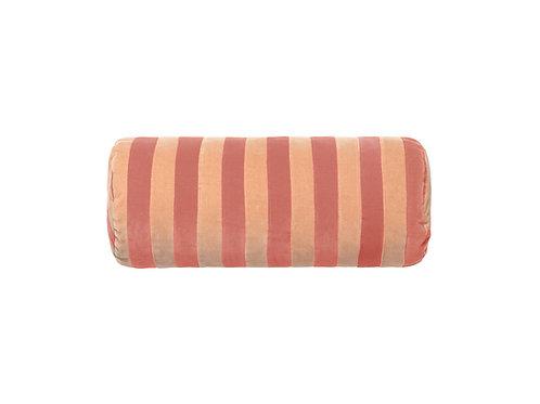Bolster stripe #blush/beige
