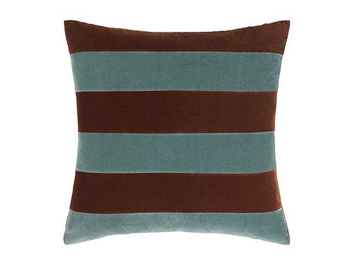 Stripe 55x55 #Sierra/pale blue