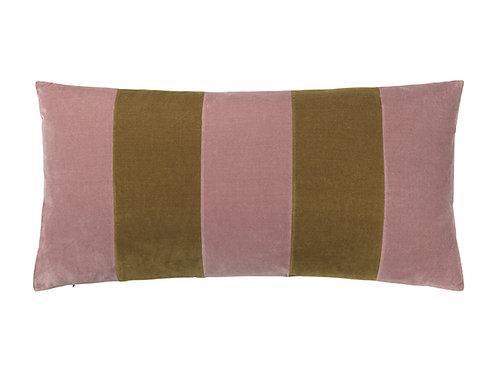 Stripe 40x80 #Old rose/willow