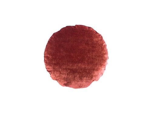 Mirror velvet ø45 amber