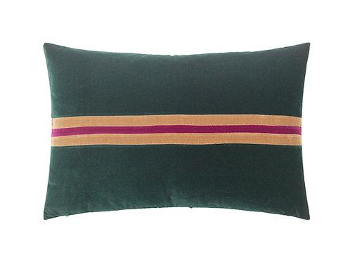 Harlow 40x60 #Emerald/camel/anemone