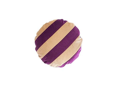 Stripe ø45 #anemone/beige
