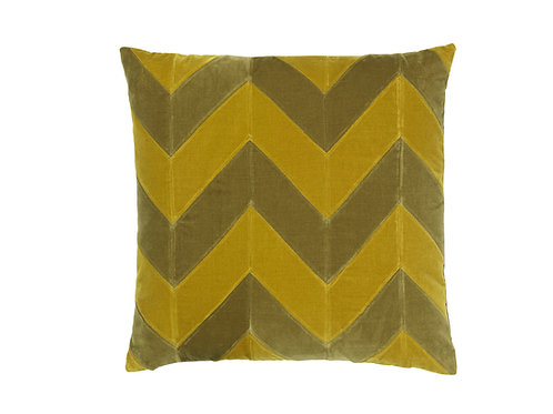 Zig Zag 60x60 #willow/golden olive