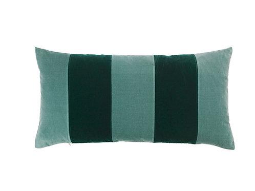 Stripe 40x80 #pale blue/emerald