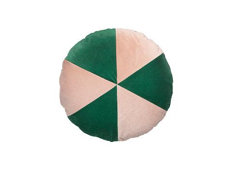 Cake ø45 #155 emerald/pale rose