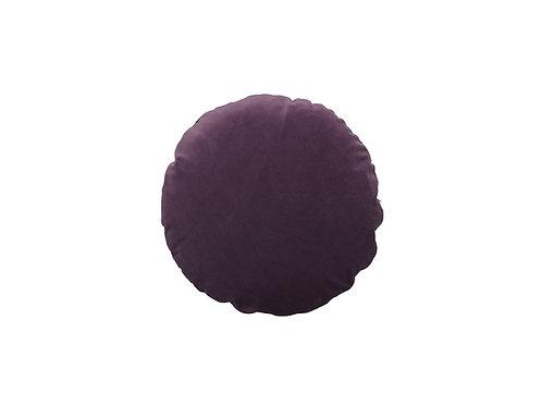 Basic round ø45 #aubergine