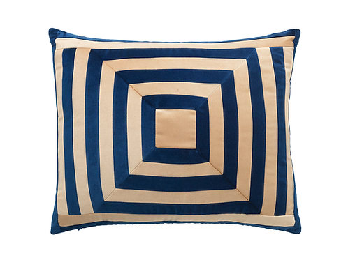 Lucy 50x60 #163 denim/beige