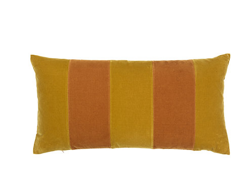 Stripe 40x80 #golden olive/curry