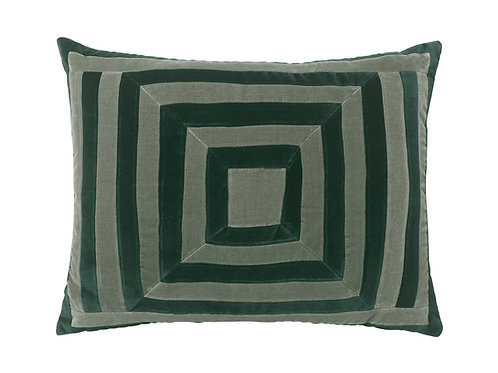 Lucy 50x60 #emerald/artichoke