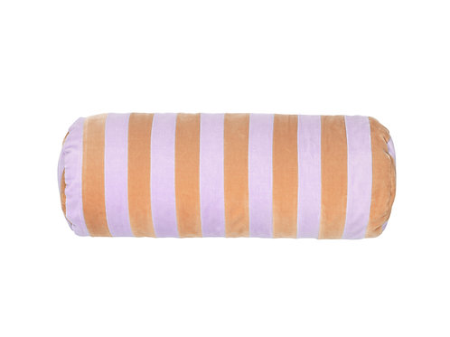 Bolster stripe #beige/lavender