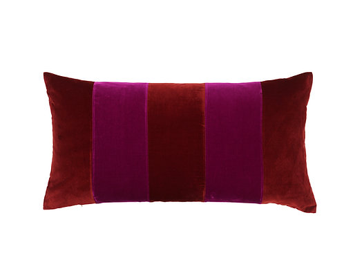 Stripe 40x80 #wine/anemone