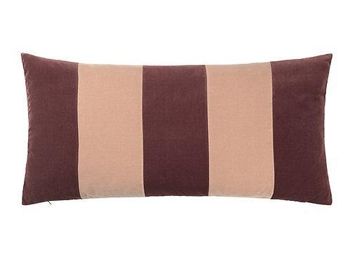 Stripe 40x80 #Prune/beige