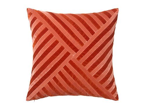 Lily 55x55 #dark red/blush