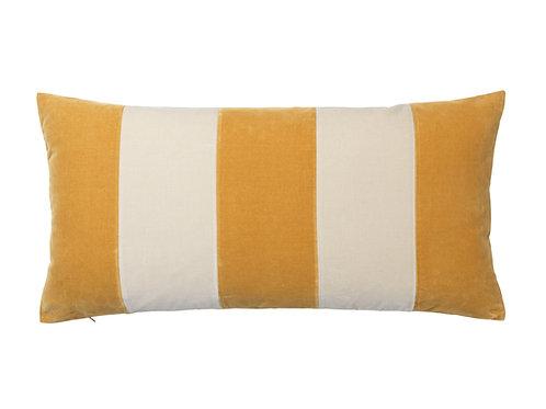 Stripe 40x80 #mustard/dusty white