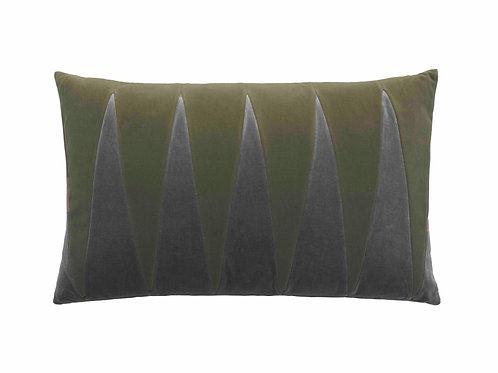 Paula 40x60 #artichoke/steel grey