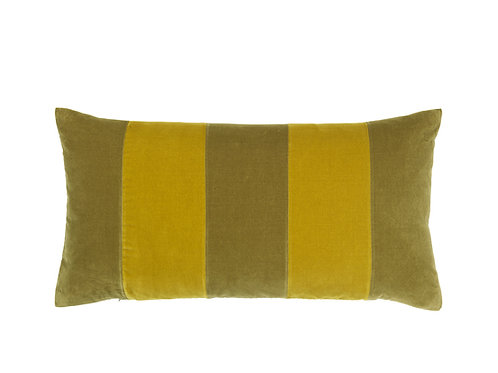 Stripe 40x80 #willow/golden olive