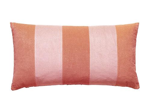 Stripe Velvet 40x80 blush/pale rose