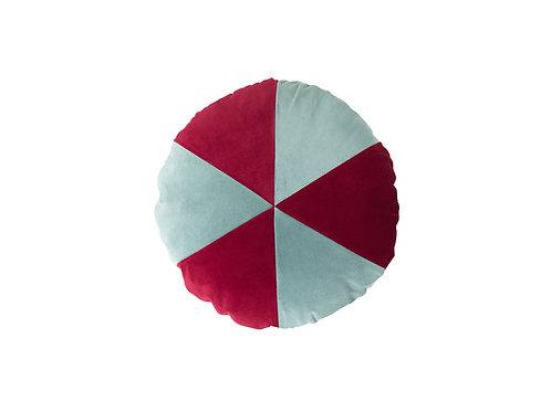 Cake ø45 #101 pale blue/ruby