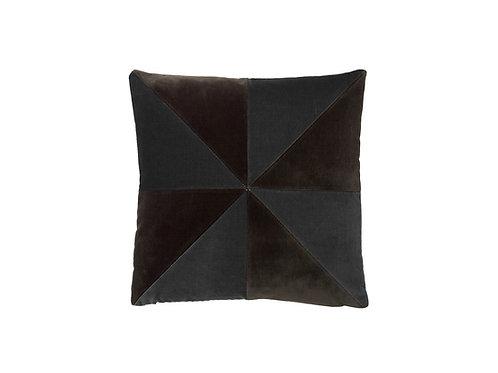 Suki 40x40 #chocolate/dark grey