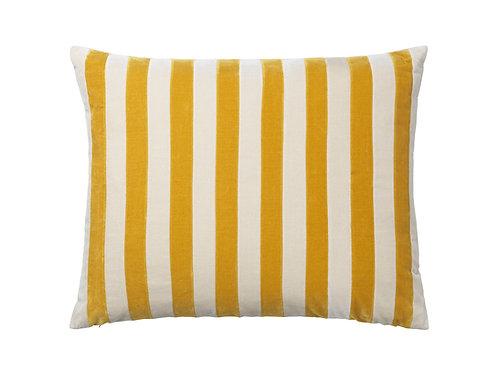 Millie 50x60 #mustard/dusty white