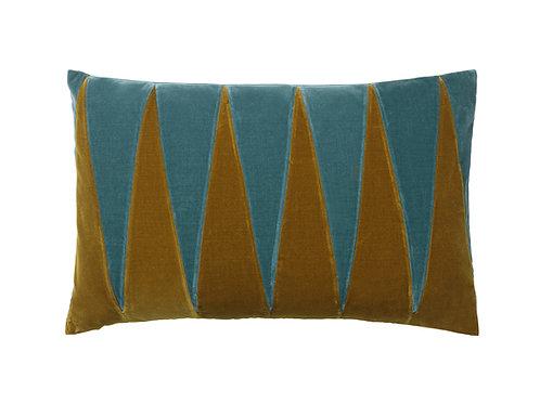 Paula 40x60 #golden olive/pale blue