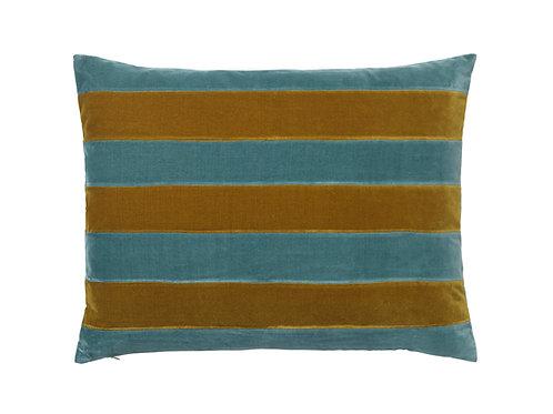 Zarah 50x70 #caramel/pale blue