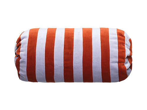 Bolster stripe #140 dark red/mauve