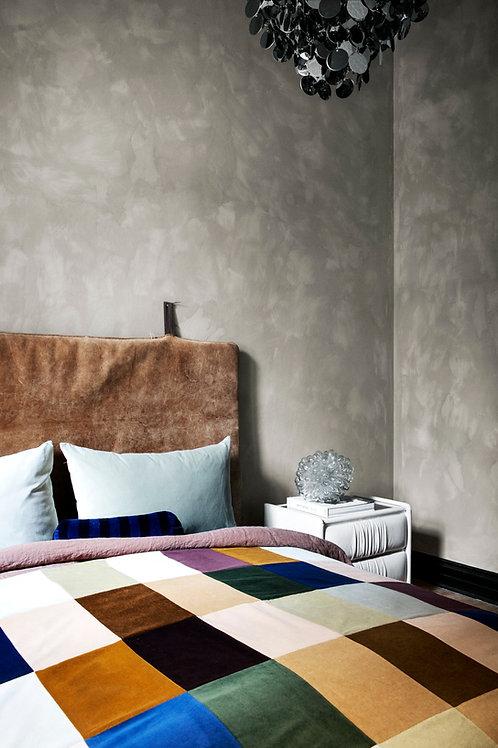Bed cover multi color