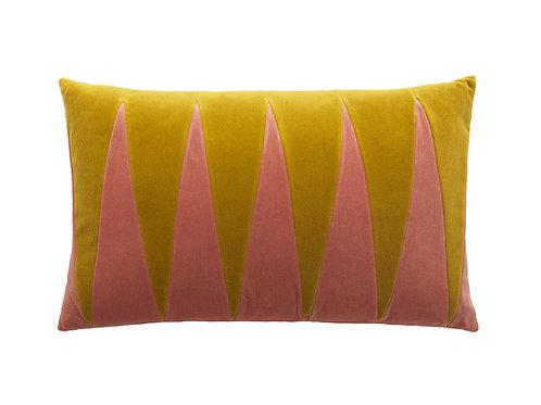 Paula 40x60 #golden olive/blush