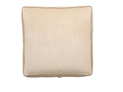 Floor cushion 70x70x15 desert peach