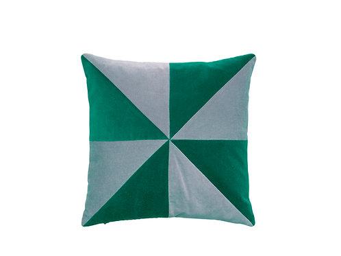 Suki 40x40 #115 pale blue/emerald